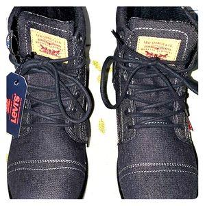Levi's Denim Boots Men's Casual Comfort Boots 9